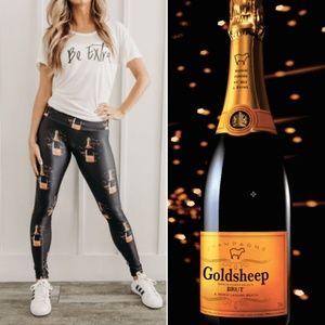 Goldsheep Champagne Leggings